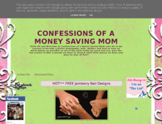 confessionsofamoneysavingmom.blogspot.de screenshot