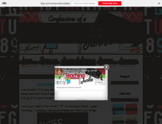confessionsofateachingjunkie.com screenshot