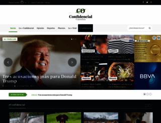 confidencialcolombia.com screenshot