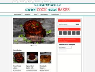 confident-cook.com screenshot