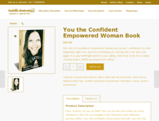 confidentempoweredwoman.com screenshot