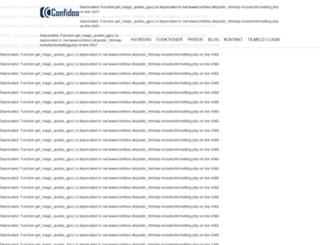 confidoo.dk screenshot