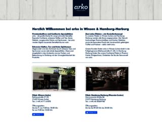 confiserie-arko.de screenshot