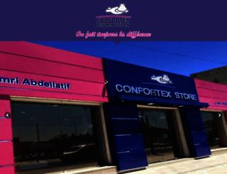 confortex-distribution.com screenshot