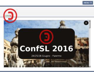 confsl.org screenshot
