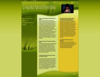 congenitaladrenalhyperplasia.org screenshot