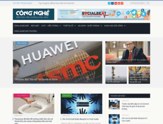 congnghe.vn screenshot