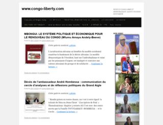 congo-liberty.com screenshot