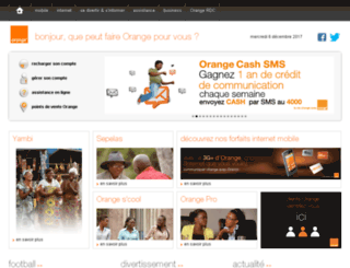 congo.orange.mu screenshot