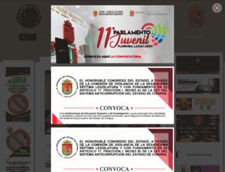 congresochiapas.gob.mx screenshot