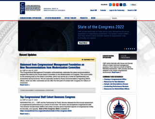 congressfoundation.org screenshot