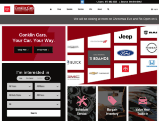 conklincars.com screenshot
