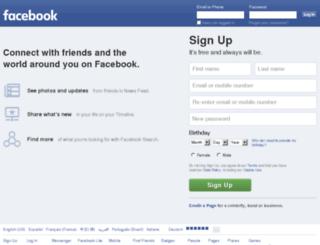 connecct.connect.facebook.com screenshot