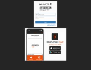 connect.brookson.co.uk screenshot
