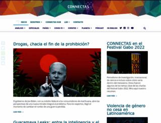 connectas.org screenshot