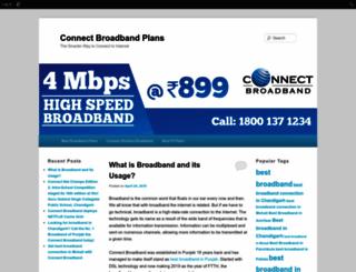 connectbroadband.edublogs.org screenshot