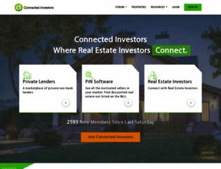 connectedinvestors.com screenshot
