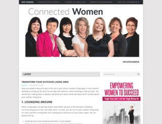 connectedwomen.net.au screenshot