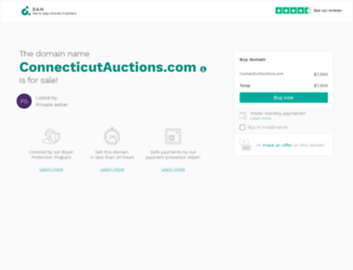 connecticutauctions.com screenshot