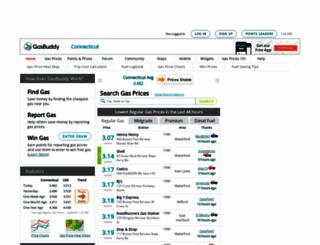connecticutgasprices.com screenshot