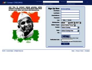 connectindians.com screenshot