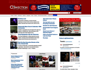 connectionnewspapers.com screenshot