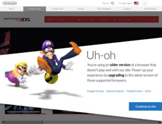connectnintendodsi.com screenshot