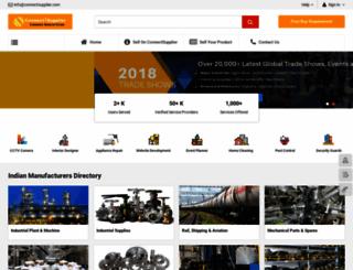 connectsupplier.com screenshot