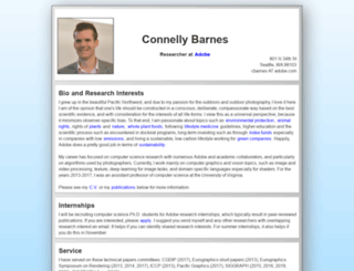 connellybarnes.com screenshot