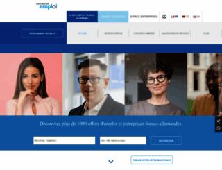 connexion-emploi.com screenshot