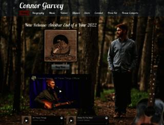 connorgarveysongs.com screenshot