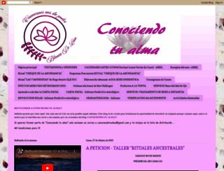 conociendotualma.blogspot.com screenshot