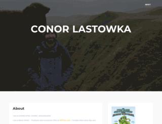 conorlastowka.com screenshot