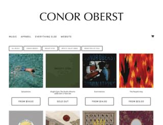 conoroberst.inktankmerch.com screenshot