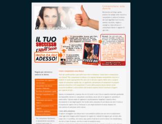 conquistaredonna.com screenshot