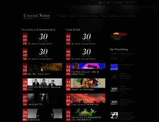 conradsohm.com screenshot