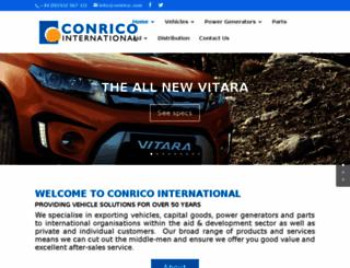 conrico.com screenshot