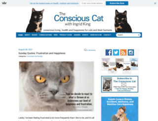 consciouscat.com screenshot