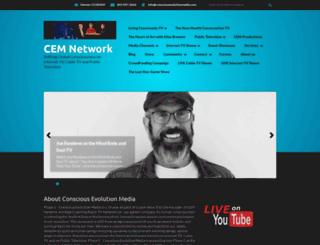 consciousevolutionmedia.com screenshot