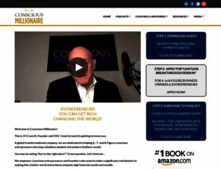 consciousmillionaire.com screenshot