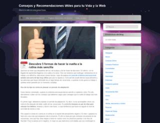 consejosyrecomendaciones.wordpress.com screenshot