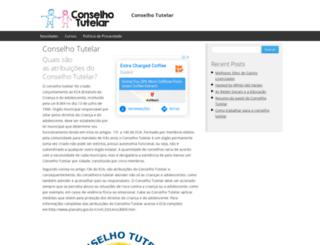 conselhotutelar.com.br screenshot