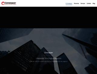 consequor.com.br screenshot