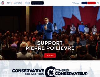 conservative.ca screenshot