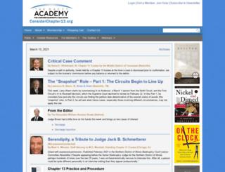 considerchapter13.org screenshot