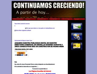 consigueloquebuscas.amawebs.com screenshot
