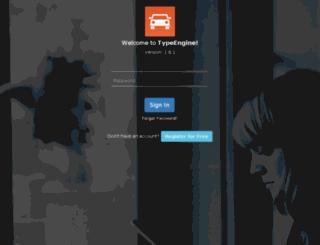 console.typeengine.net screenshot