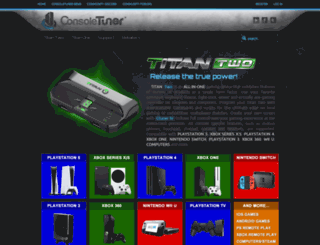 consoletuner.com screenshot