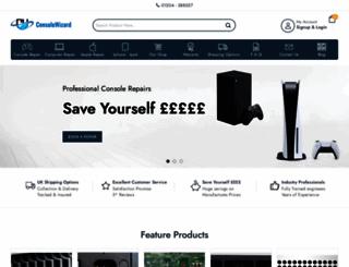 consolewizard.co.uk screenshot