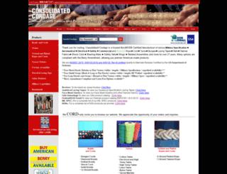 consolidatedcordage.com screenshot